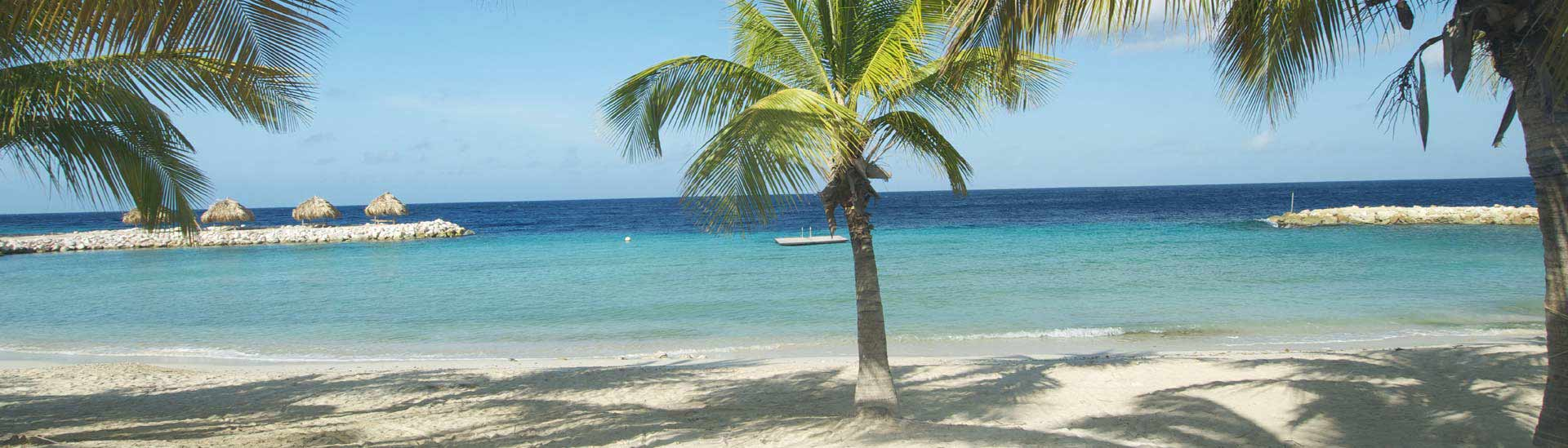 Fly direct to Sunny Curacao's lodges from the US or Canada