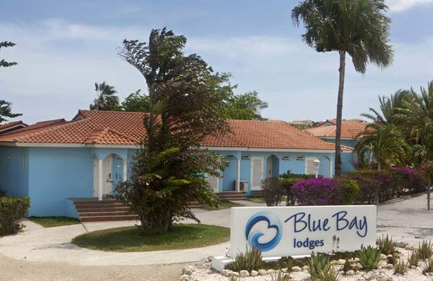 Blue Bay Lodges are located in the colorful gardens of the Blue Bay Golf & Beach Resort